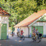 Verken de omgeving van Camping Huttopia de Roos in Overijssel met de fiets