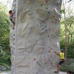 klimwand op Kamp Koren
