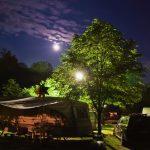 Camping Kamp Koren bij volle maan