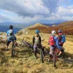 Mountainbiken in de bergen van Slovenië