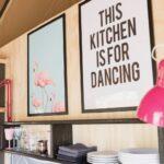 Keuken in een safaritent