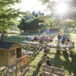 Kindvriendelijke camping in Le Marche, Italië