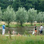 Zwemmen bij Landgoed de Hoevens