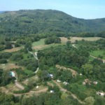 Drone view van Camping Le Peyral
