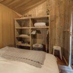 Slaapkamer safaritent