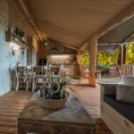 Leefruimte van een safaritent