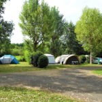 Kampeerplekken bij Camping de Salviac in het zuidwesten van Frankrijk