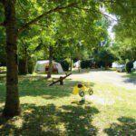 Camping de Salviac in Frankrijk heeft een speeltuintje voor kinderen