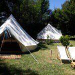 Huurtenten bij Camping de Salviac in Frankrijk